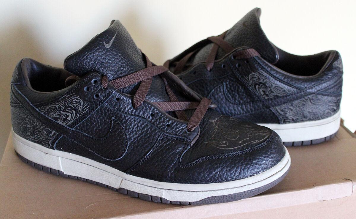 Nike e basso laser pack 9 2003 vnds michael desmond nero barocco pietra bruna