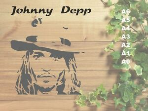 Johnny-Depp-Stencil-350-micron-Mylar-not-thin-stuff-Fam04
