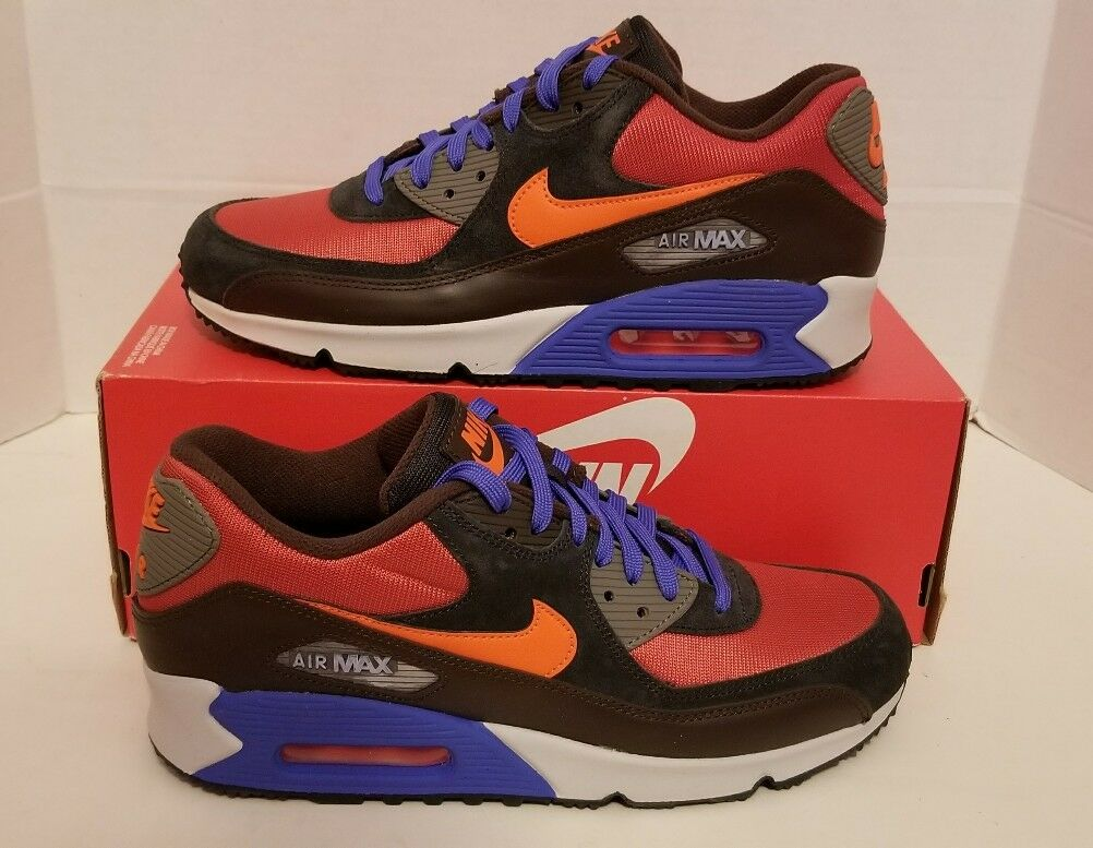 Nike air max 90 inverno sonodiventate sz 8 argilla rossa 683282 600 qs nolid