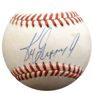 a1fc9ea6649 Image is loading Ken-Griffey-Jr-Autographed-AL-Baseball-Mariners-Vintage-