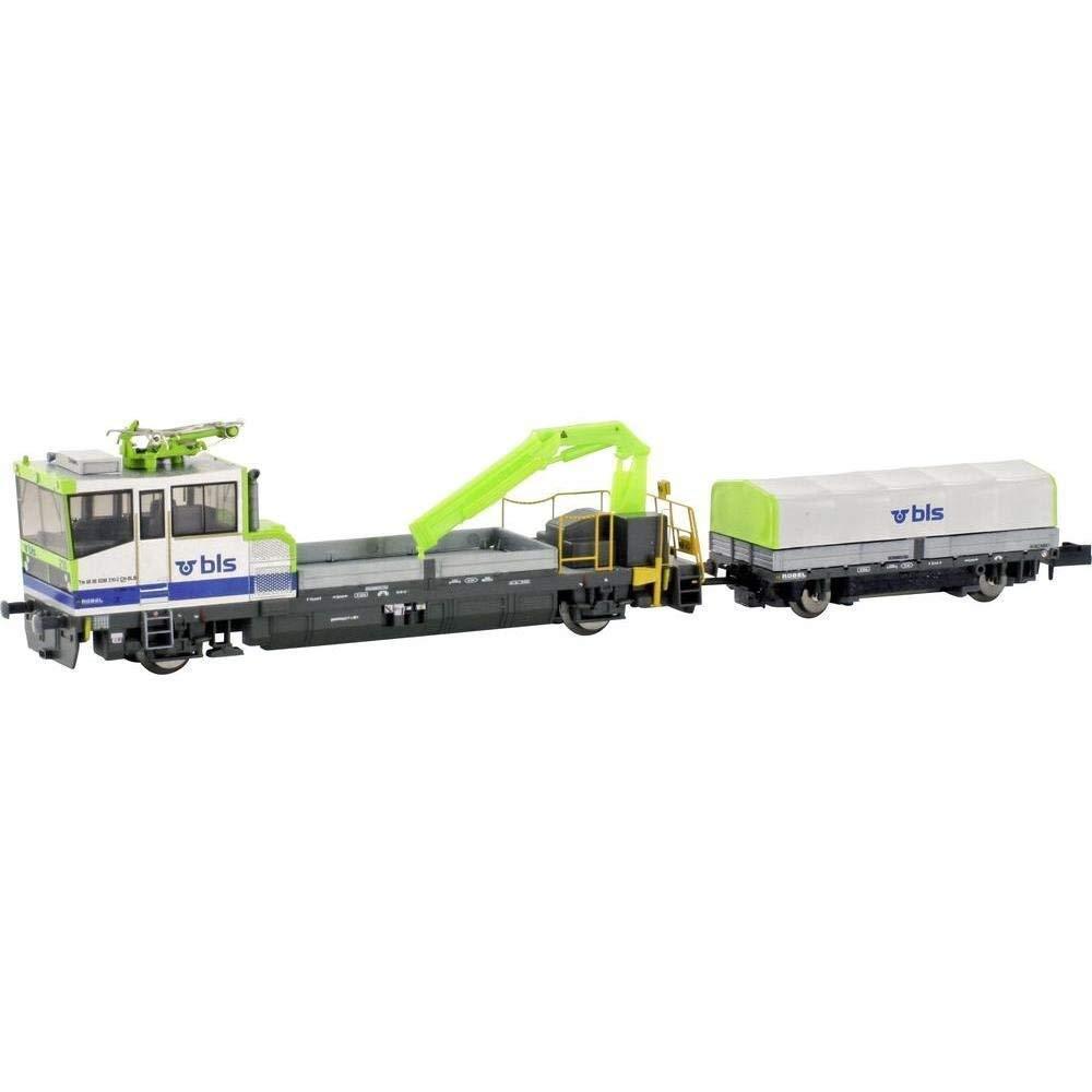 Scala N  Hobbytrain Robel Tm 235 BLS con Stromabn. Motorizzato  23563 Neu