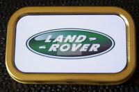 Land Rover -a- 1 & 2oz Tobacco/Storage Tins