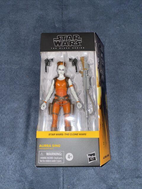 "Hasbro Star Wars The Black Series Aurra Sing 6"" Action Figure (F1870)"