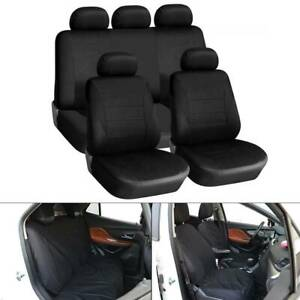 9pc-Universal-Car-Seat-Covers-Set-Protectors-Washable-Dog-Pet-Front-Rear