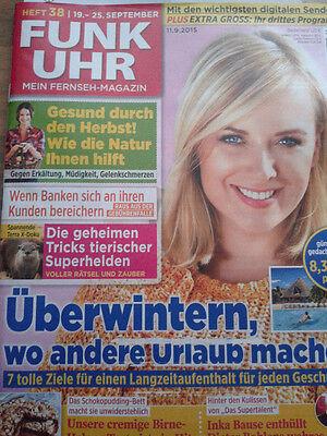 2 X Funkuhr Ausg.38 +40 2015 überwintern Wo Andere Urlaub Machen / Herbstfrüchte