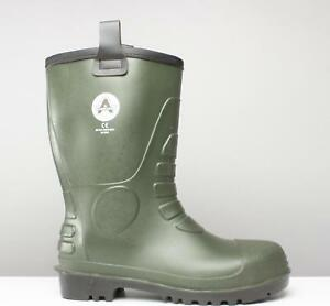 e0e9db2a1dc Details about Amblers Safety FS97 Mens Steel S5 Rigger Safety Waterproof  Wellington Boot Green