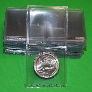 1.5 x 1.5 Frame A Coin UN Vinyl Flips Inserts Double 2 Pockets Holders