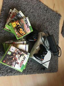 Microsoft Xbox 360 mit 11 Spielen | eBay