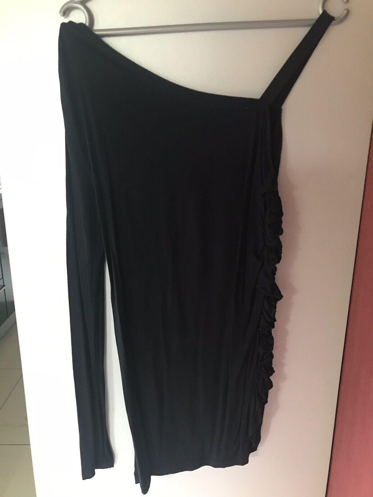 Conleys lila Shirt Top mit TOLLEN DETAILS M 36 38 Viscose schwarz Impressionen