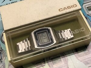 29CS-11-Rare-CASIO-Casiotron-1976-WORLD-TIME-Digital-LCD-Quartz-watch-uhr-MOT