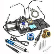 X Tronic 3060 Pro 75 Watt Double Digital Soldering Iron Station Complete Kit