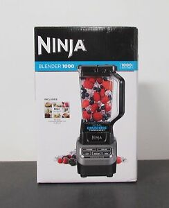 how to use ninja professional blender 1000 watts