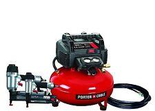 Porter-Cable Finish &  Brad Nailer nail gun air compressor Combo  PCFP12656 wrnt