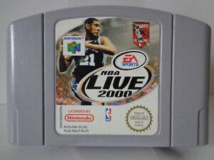 N64 juego-NBA Live 2000 (PAL) (módulo)