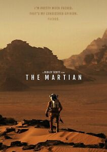 THE-MARTIAN-Movie-PHOTO-Print-POSTER-Textless-Film-Art-Matt-Damon-Ridley-Scott-3