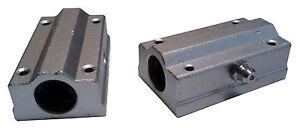 Rod LM8UU CNC /& 3D Printer Shaft SC8UU Bearing /& Bracket 8mm Linear Rail