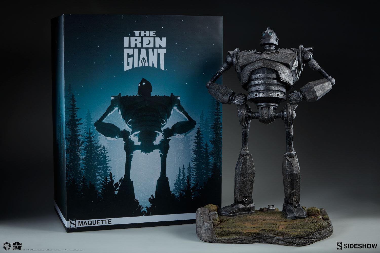 The Iron Iron Iron Giant Maquette by Sideshow Collectibles Statue Il Gigante di Ferro c890e0
