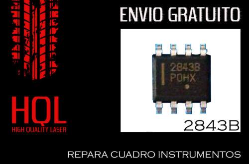 UC 2843 BD Reparar cuadro instrumentos Renault Scenic 2 unidades