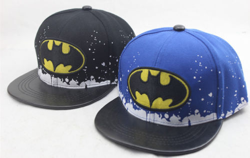 BATMAN Boy Girl Adjustable Baseball SCHOOL Cap Kids Snapback Children Child Hat
