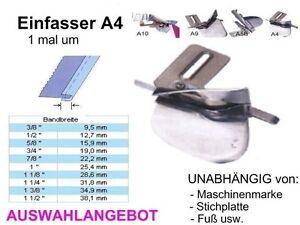 Einfasser-A4-OFFENE-Kanten-Breiten-zur-AUSWAHL-Universell-passend