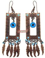 Evil Eye Protection Earrings - Luck Charm - Good Fortune - Gift - Talisman