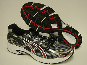 74cc08f4ca55 NEW Mens ASICS Gel Equation 4 T0F3N 9091 Black Silver Racing Red ...