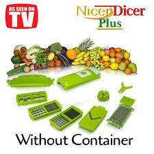 HIGH QUALITY Nicer Dicer Plus Vegetable Cutter Slicer Peeler WITHOUT CONTAINER