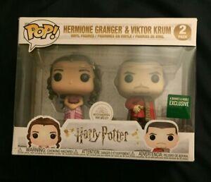 Harry Potter HERMIONE GRANGER & VIKTOR KRUM Funko 2-Pack Barnes&Noble Exclusive