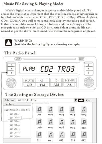Renault Espace III MP3 SD Lector de Tarjetas USB CD AUX entrada módulo de cambiador de CD de audio