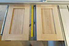 Hand Made Replacement Solid Oak,shaker  stile  Kitchen,Cabinet  Doors, any size!