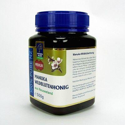 (49,80/kg) Manuka Wildblütenhonig Manuka Honig mit Wildblüten 500 g