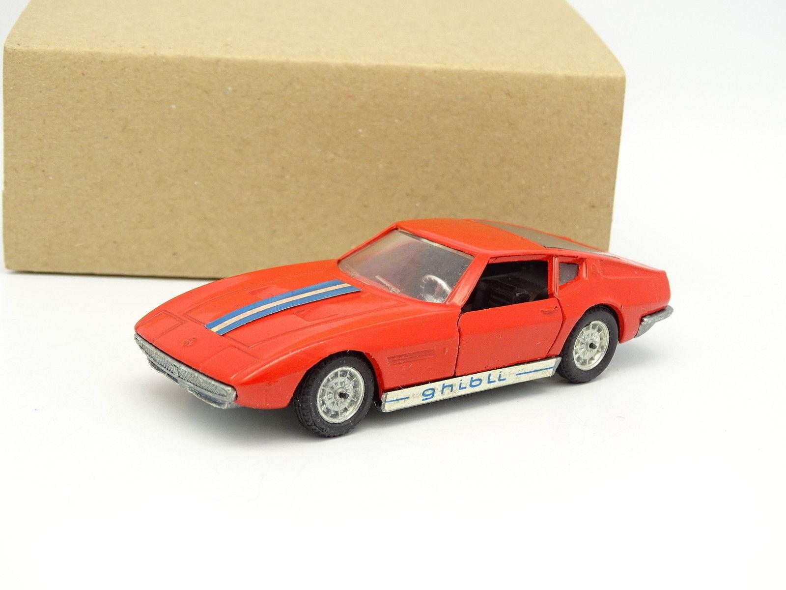 Politoys 1/43 - Maserati Ghibli Ghia Rosso