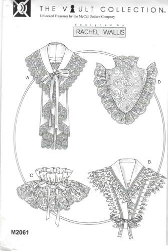 Patrones de corte mccall/'s m 2061 puntas y volantes cuello