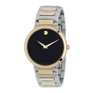 Movado 0607293 Men's Temo Black Quartz Watch