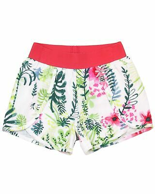 Sizes 5-12 Deux par Deux Girls/' Chambray Shorts Red Orchid