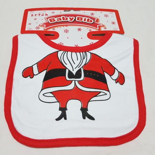 Lätzchen Spucktuch Weihnachten Winter Nikolaus Schneemann Rentier Weihnachtself