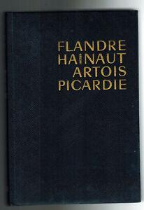 1966-les Guides Bleus-flandre-hainaut-artois-picardie - Cartes - Edit.hachette