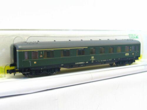 LN1764 // 2 Minitrix N 15752 Schürzenwagen ABüe 1 Klasse DB OVP