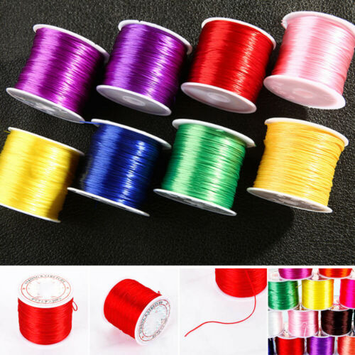 1mm Strong Stretchy String Bracelet Beading Cord Crystal Thread Necklace Rope