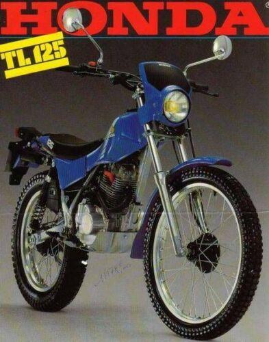1973 Honda TL 125  RETRO GARAGE METAL TIN SIGN POSTER WALL PLAQUE