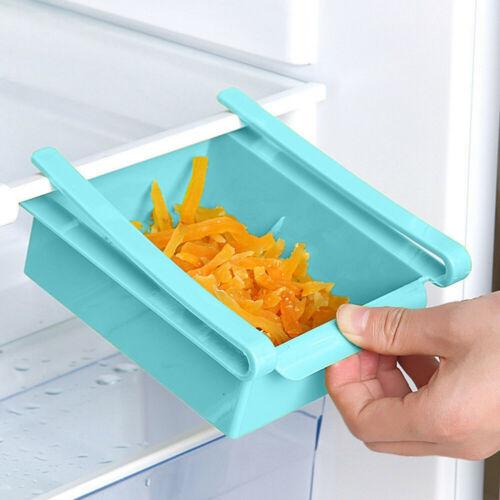 Pull-out Refrigerator Storage Box Holder Food Storage Drawer Shelf Rack Box Case