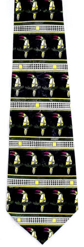 Toucans Men/'s Necktie Animal Toucan Birds Tropical Bird Fashion Blue Neck Tie