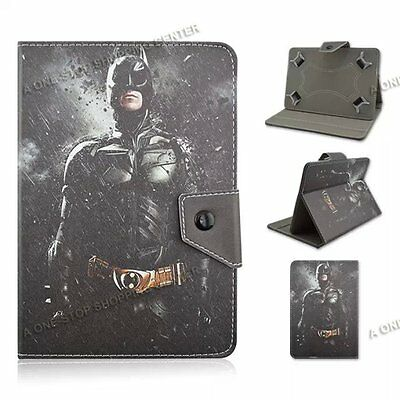 """For 7"""" 7.9"""" universal tablet PC PU Leather Folio Case Cover super hero spiderman"""