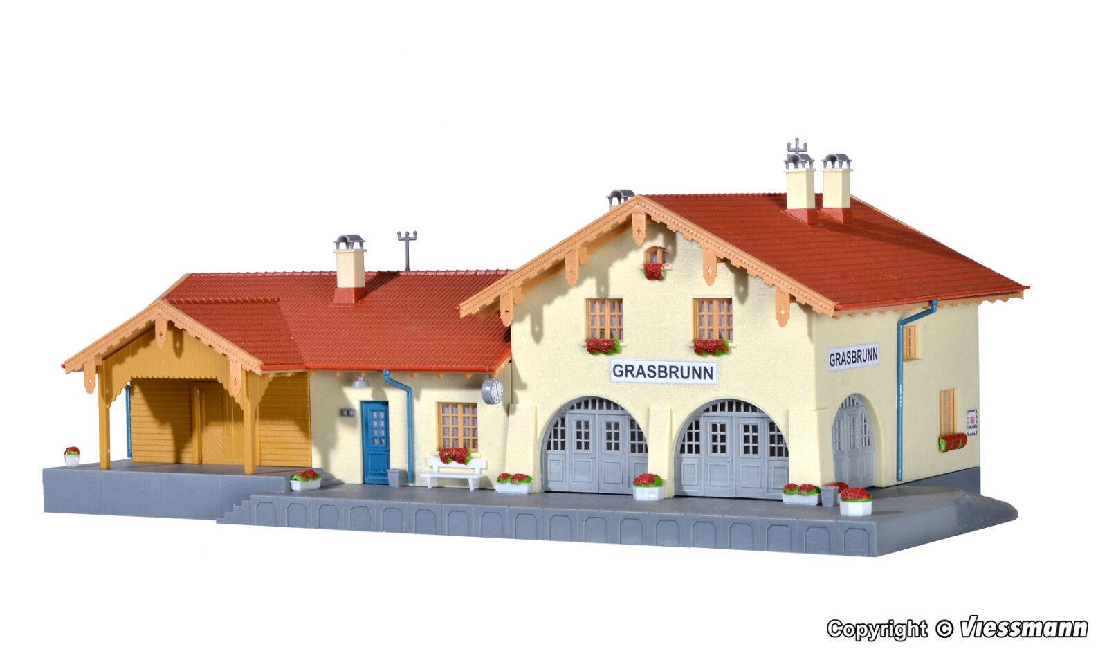 Kibri h0 39388 la estación Grasbrunn nuevo en el embalaje original