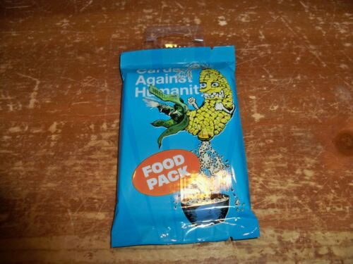 Web College LOT OF 4 Cards Against Humanity Expansions Food Science