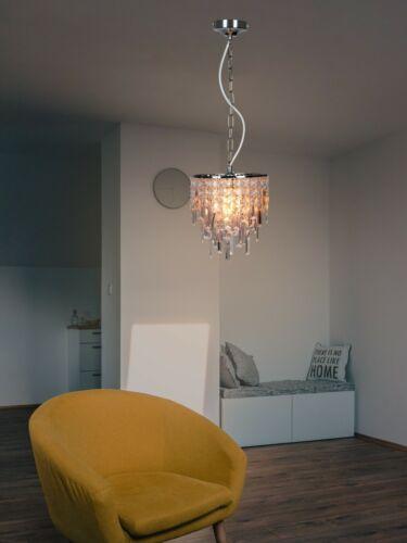 Ceiling Rose Pendant Cord Flex Hanging Lamp Light Bulb Fitting Pendant Chrome