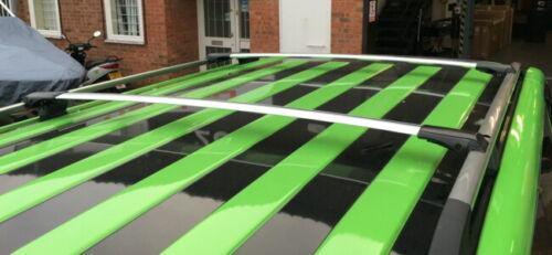 Lockable AeroWingBar Roof Rack Cross Bar Set Fits Mercedes E-Class S124 Estate