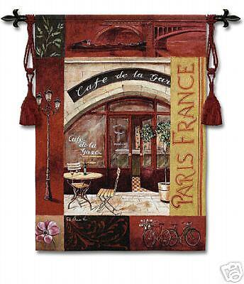 Paris France I Tapestry Picture Moderne Cafe French ejkf492133377 ...