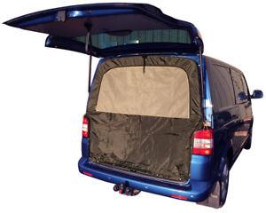 Porton-Trasero-Mosquito-Net-para-VW-T5-T6-con-construido-en-bolsa-de-almacenamiento-C9561
