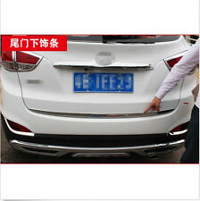 Steel Rear Trunk Lid Cover Trim 1pcs For Hyundai 2010 2011 2012 2013 Tucson ix35